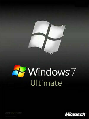 Windows 7 Ultimate 32 Bit With Genuine Windows 10 Professional Upgrade • 160£
