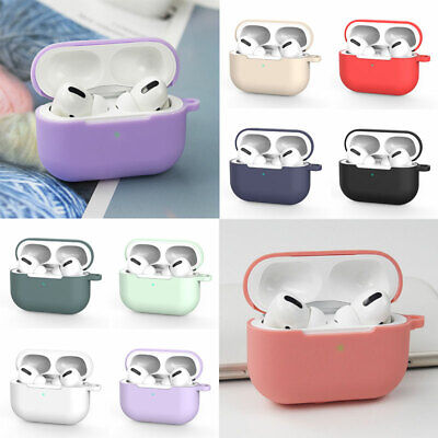 $ CDN2.27 • Buy Fit For AirPods Pro Wireless Charging Case AirPods 3 Silicone Protective Cover#