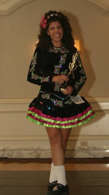 $999 • Buy Solo Irish Dance Dress (With Dress Carrying Bag)
