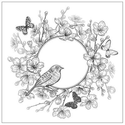 £2.57 • Buy Butterfly Bird DIY Silicone Clear Stamp Cling Seal Scrapbooking Embossing Album