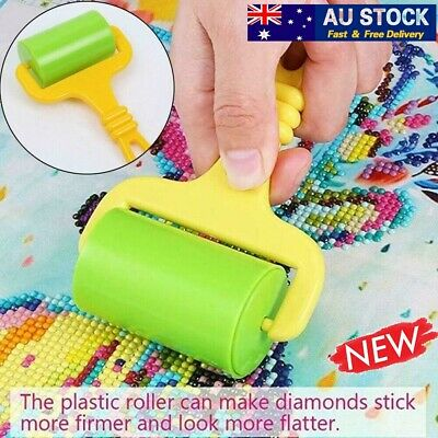 AU8.65 • Buy NEW Diamond Painting Roller Cross Stitch Accessories Clay Plastic Tools DIY AU