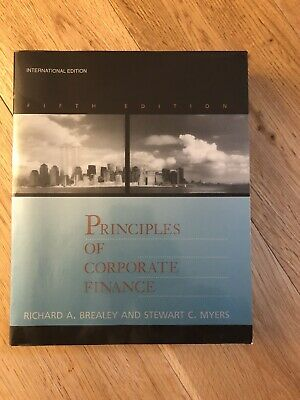 £25 • Buy Principles Of Corporate Finance Book Softcover Richard Brealey Stewart C. Myers