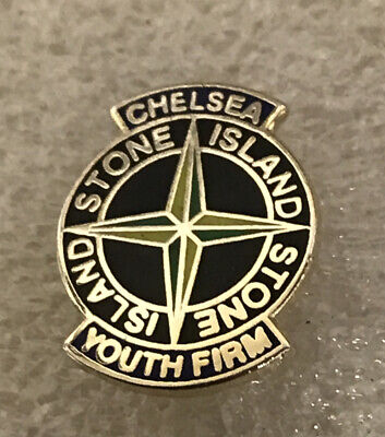 Very Old & Rare Worn By Chelsea Supporter Headhunter Hooligan Firm Enamel Badge • 5.99£
