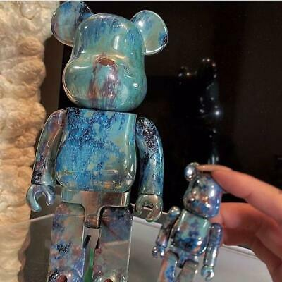 $319.36 • Buy MEDICOM TOY BE@RBRICK BEARBRICK PUSHEAD #5 100% & 400% Set 2020 New