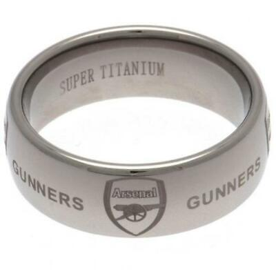 £44.99 • Buy Official ARSENAL FC Super Titanium Ring RING In A Gift Box