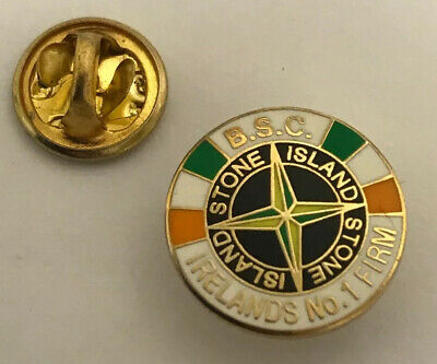 Very Rare Republic Of Ireland Supporter Enamel Badge - BSC Hooligan Firm 2 • 4.99£