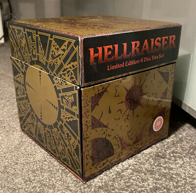 Hellraiser Limited Edition 4 Disc Set - Region 2/UK (DVD) Very Good Condition • 19.99£