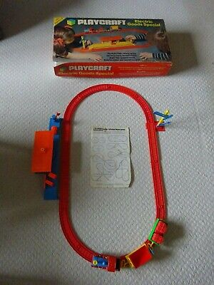 Vintage Mettoy Playcraft Battery Electric Goods Special Train Set Working 1975 • 12.99£