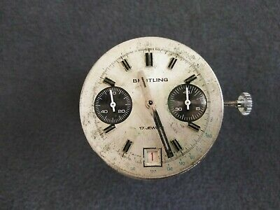 $ CDN907.46 • Buy Vintage Breitling Ref: Valjoux 7734 Chronograph Watch Movement