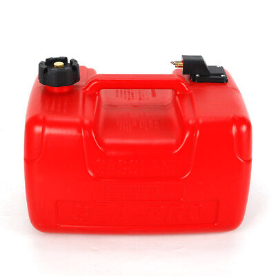 $55 • Buy 12L 3.2 Gallon Outboard Fule Tank For Small To Large Boats Adapter 6 Horsepower