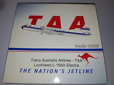 AU375 • Buy JC Wings 1:200 TAA Lockheed L-188A VH-TLC--RARE!!