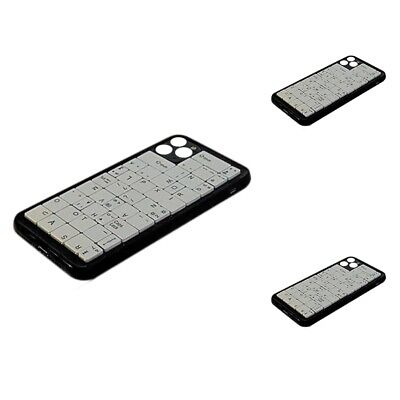 1X(Messy Keyboard For IPhone12 Mobile Phone Case Soft Fully Surrounded X9Y4) • 5.53£