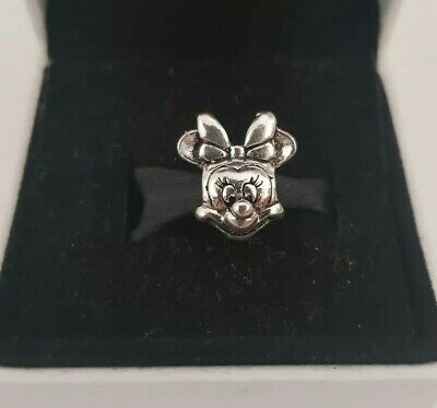Minnie Mouse Silver S925 Charm Pandora  Gift • 6£