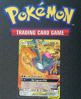 AU14.95 • Buy Pokemon Card - MOLTRES & ZAPDOS & ARTICUNO GX 44/68  HIDDEN FATES   *** MINT ***