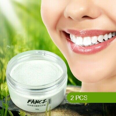 Teeth Whitening Powder Toothpaste Charcoal Natural Formula Remove Plaque Stains • 6.50£