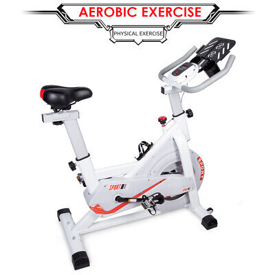 Spin Exercise Bike Home Gym Bicycle Cycling Fitness Workout Cardio Training • 219.99£