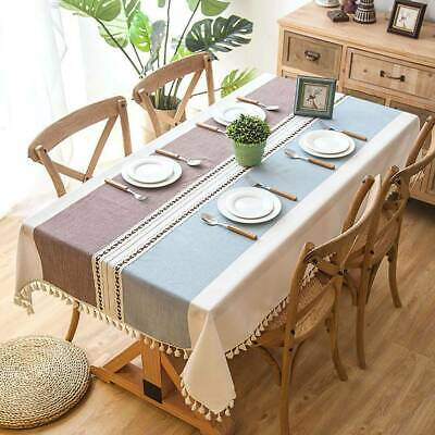 AU46.93 • Buy Wipe Clean Tablecloth Waterproof Table Cloth Cover Protector Dining Kitchen UK