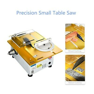 Desktop Precision Mini Table Saw Woodworking Polishing Drilling Machine Portable • 118.65£