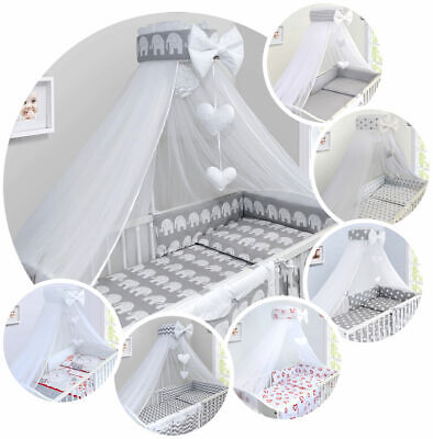 £29.99 • Buy Universal Canopy Holder Pole Bar Drape Mosquito Net With Ribbon Fits Cot Cot Bed