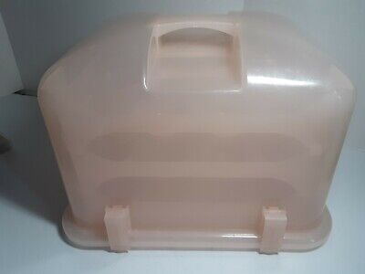 Cupcake Courier Cupcake Caddy Holds 36 Petal  Pink Plastic Carrier • 34.37£