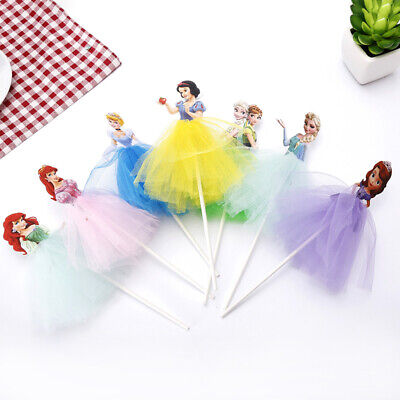 £10.20 • Buy Disney Princess Frozen Large Cake/ Cupcake Toppers Girls Boys Party Decorations