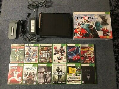 $ CDN146.46 • Buy Xbox 360 120 Gb Hdd Console Bundle W/ Lots Of Great Games & 60 Gb, Infinity More