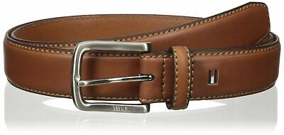 $24.95 • Buy Tommy Hilfiger Men's 35MM Wide Leather Stitched Edge Casual Belt