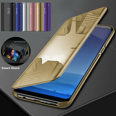 New Huawei P20 Lite Mate P10 Pro Smart View Mirror Leather Flip Stand Case Cover • 2.99£