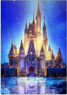 AU22.95 • Buy 5D Diamond Painting Kit Full Drill Kit-Arts N Crafts Kit, Castle Easy Activity!!