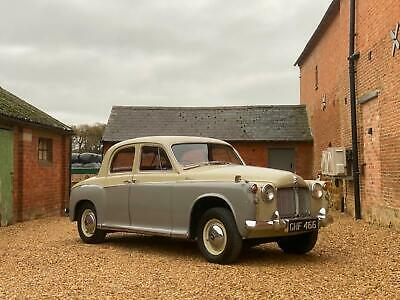 1959 Rover 90 P4. Last Owner 15 Years. Older Restoration That Presents Very Well • 8,995£