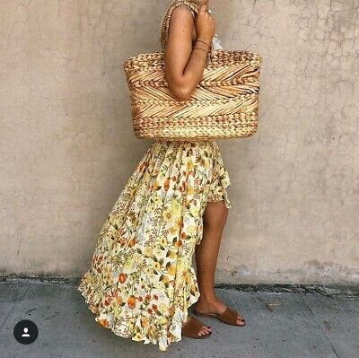 AU196.63 • Buy Spell & The Gypsy Collective Sayulita Frill Split Skirt ~Size Small, NWT~