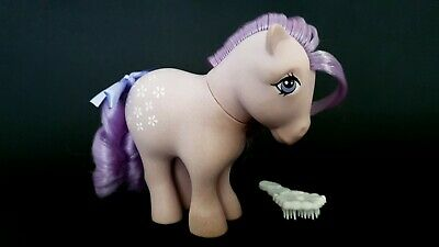 AU20 • Buy  Blossom Concave Hooves G1 Vintage My Little Pony With Brush