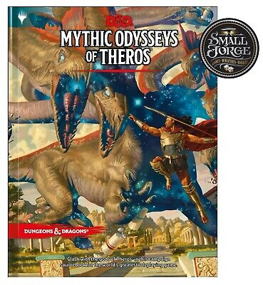 AU54 • Buy D&D Mythic Odysseys Of Theros, 5th Edition Hardcover Sourcebook, NEW