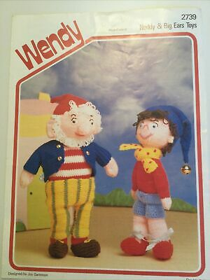 Wendy Noddy & Big Ears Toys Knitting Pattern New Condition  • 1.75£