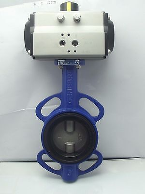 AU438.36 • Buy Pneumatic Actuated Butterfly Valve Wafer,Spring Return Fail Safe Close 2  To 4