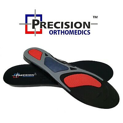 Work Boots Orthotic Foot Arch Heel Support Shoe Inserts Massaging Gel Insoles • 5.99£