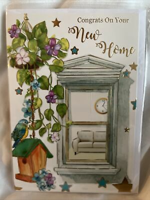 £1.29 • Buy New Home Card / Congratulations New Home Card / New House Cards - 5 Styles
