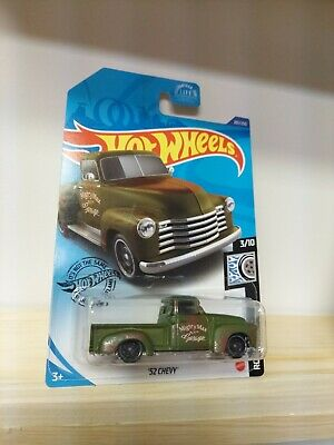AU1.89 • Buy 2020 Hot Wheels 201/250 GREEN '52 CHEVY Pickup HTF MIGHTY MAX GARAGE ~