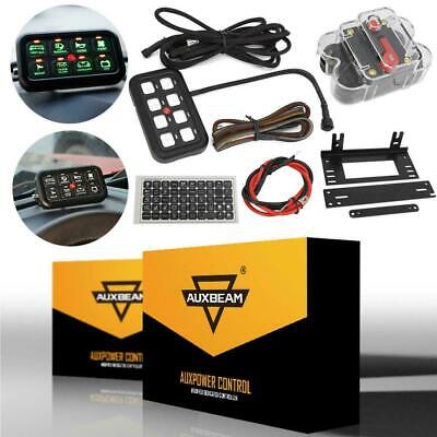 AU159.87 • Buy Auxbeam 8 Gang ON-OFF LED Switch Control  Panel Backlight Electronic System Trim