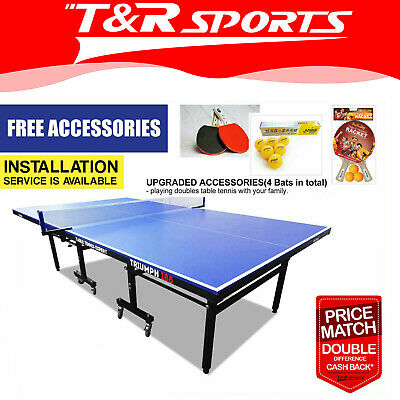 AU745.99 • Buy OUTDOOR PRIMO Triumph 188 Table Tennis / Ping Pong Table W/ DHS Accessories