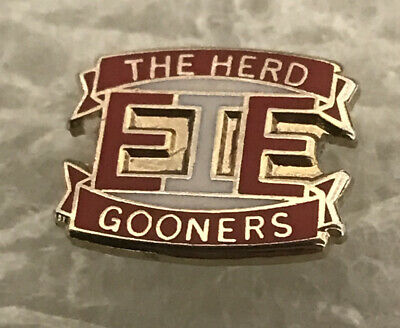 Arsenal Supporter Enamel Badge Very Rare - The Herd - Gooners Hooligan Firm • 4.99£