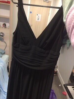 Ever Pretty Black Maxi Evening Dress, UK 8 But Definetly More Of A UK 10 • 8£