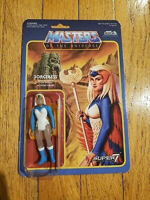 $71 • Buy Super7 ReAction Masters Of The Universe Figure MOTU Sorceress NerdBlock Clear