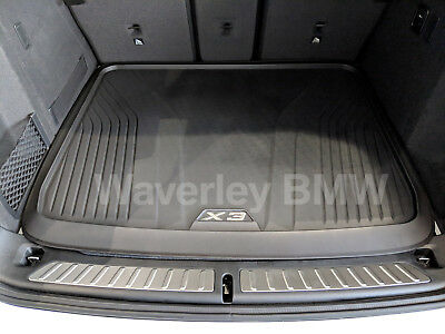 AU275.40 • Buy New Genuine BMW X3 G01 Boot Mat Fitted Luggage Liner Part 51472450516