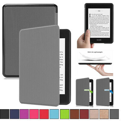 AU18.98 • Buy Slim Lightweight Leather Case Cover For Kindle Paperwhite 6 2018 10th Generation