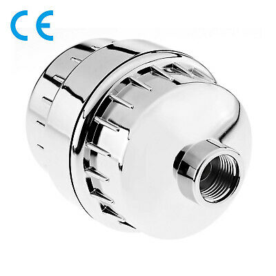 Universal InLine Shower Head Filter Metal Removal Filter 1/2  Connection Fit • 16.06£
