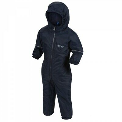 RKP155 Regatta Kids Splosh III Waterproof & Lined Insulated Rain Suit MRP £45.00 • 29.95£