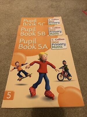 Collins New Primary Maths Year 5 ( Books A, B And C) • 4.80£