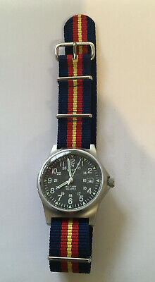 MWC G10 LM 12/24 Hour S/Steel Military Watch With Berkshire Yeomanry Strap  • 80£