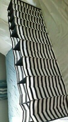 IKEA Collapsible Storage Compartments 44x6  Black & White Stripes For Closet Rod • 6.62£